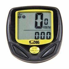 New Wireless Bike Bicycle Cycle LCD Computer Speedometer Odometer Waterproof.