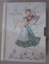 Children Girls Fairy Lockable Diary/Notebook/Journal Hard Cover Birthday Xmas
