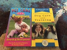Dog Training Pet Care 2 VHS Lot Beginner Very Good Condition American Kennel