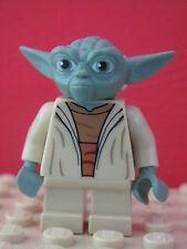 LEGO Star Wars @@ Minifig @@ sw446 @@ Yoda (Clone Wars, White Hair) - 75002