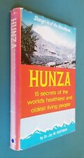 HUNZA 15 Secrets of World's Healthiest & Oldest Living People SIGNED JAY HOFFMAN