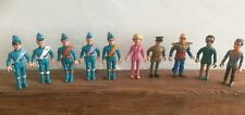 Matchbox Thunderbirds Full Set Of Figures Good Condition