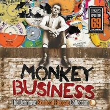 Monkey Business: The Definitive Skinhead Reggae Collection - Vinyl 2LP