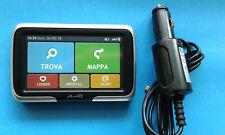 "AMICO SPIRIT 470 NAVIGATORE SATELLITARE GPS Touchscren 4.3"", Caricabatterie auto"