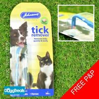 Johnsons Two-in-one Tick Remover - Twister - Two Sizes - Dog Cat Horse