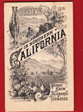 1885 HOMES IN NORTHERN CALIFORNIA IMMIGRANT ASSOCIATION OF CALIFORNIA