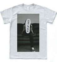 F*CK OFF Skater T-shirt Shoe Converse Top Hipster Indie Sk8 Tumblr Quote Tee