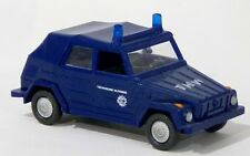Wiking 69116 - VW 181 Kübelwagen THW ELW KdoW saphirblau neutral - 1:87 H0