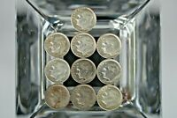 1960s ROOSEVELT  DIMES Lot of (10) Mixed Dates   M-597 😊