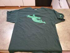 Vintage GREEN LANTERN Graphitti Hanes Green T-Shirt 2XL 100% Pre-Shrunk Cotton