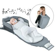 4 in 1 Portable Foldable Baby Bed Baby Lounger Travel Crib Infant Cot Newborn