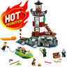 Scooby Doo Haunted Lighthouse House Compatible with LEGO Building Block Toy Kid