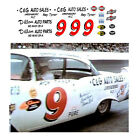9 Roy Tyner 1957 Ford 1/64 scale decal AFX Tyco Lifelike