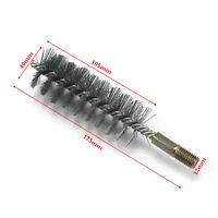 18mm-75mm Stainless Steel Round Wire Tube Pipe Cleaning Brush 6-12mm Thread