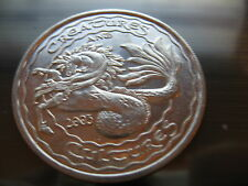 dragon horse creatures 2003 Mardi Gras Doubloon Coin new orleans