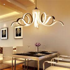 LED White Ceiling Lamp Acrylic Chandelier Pendant Light Luminaire Lighting Yc