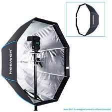 "Neewer 29.5"" Portable Octagonal Umbrella Softbox for Studio Flash Speedlite"