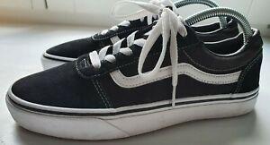 Vans Sneaker Schuhe Sportschuhe EU 39 UK 7 fast wie neu schwarz/weiß