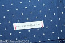 Brooklyn Bond Pearl Street Blue F/Q Duvet Cover Set 3 pc nwot