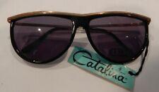 Vintage Catalina by Viva 106 Black Sunglasses New Old Stock #314
