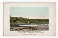 Algeria, Icilma Natural Spring, Port-Aux-Poules Station Postcard, A517a