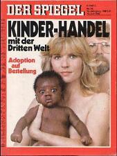 SPIEGEL 28/1982 Kinderhandel mit der Dritten Welt