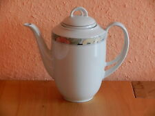 Porzellan Kaffeekanne - Form Marienbad, Ingres Weiss - #167