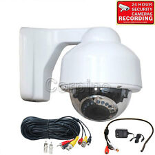 Audio Security Camera w/ SONY Effio CCD Outdoor IR Night Vision 700TVL Zoom mfz