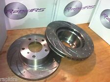Ford Territory BF XR6T XR8 Disc Brake Rotors Slotted Ultimate Performance Groove