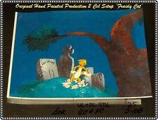 SIGNED 'Lou Scheimer' FRAIDY CAT Original Production Cel