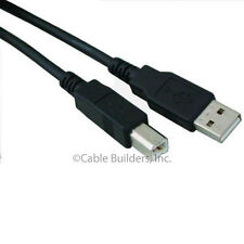 USB 2.0 CABLE CORD 6FT TYPE A MALE to B MALE 6 FT A-B for EPSON HP DELL PRINTER