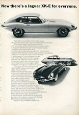1966 Jaguar XK-E Coupe - Convertible - 2+2  PRINT AD