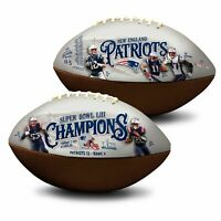 New England Patriots Super Bowl 53 LIII Champions NFL Full Size Football