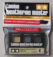 WEATHERING SET E Yellow Gray Green TAMIYA PAINT MODEL MODELING ACCESSORY 87098