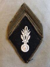 Ancien losange de bras mdl 45 Gendarme Auxiliaire Gendarmerie Nationale insigne