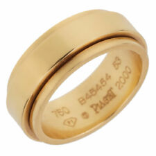Piaget Possession Yellow Gold Spinning Ring Sz 6 1/2 (0001970)