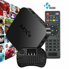MXQ IPTV Android Smart TV Box Quad Core 1G+8G WIFI XBMC HD 1080P + i8+ Keyboard