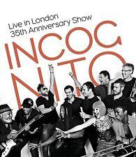 INCOGNITO - LIVE IN LONDON-35TH ANNIVERSARY SHOW  BLU-RAY NEW+