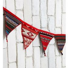 9.8ft Indian Birthday Party Pennant Flag Banner Bunting Decoration 14 Flags