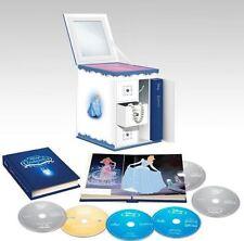 Cinderella Trilogy w/ Collectible Jewelry Box [Blu-ray + DVD + Digital, 6-Disc]