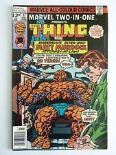 Marvel  Two-In-One The Thing Daredevil March 1978 No. 37