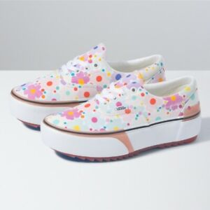 Vans UV INK Floral Era Stacked Sneakers Shoes VN0A4BTO4GG Fast Shipping