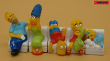 THE SIMPSONS - SIMPSON COUCH - 5 Teile / loose / ca. 8 cm Länge / Matt Groening
