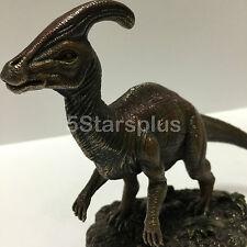 Parasaurolophus Statue Dinosaur Sculpture Figurine Prehistoric Animal