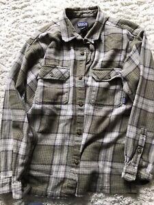 Patagonia flannel Shirt - men's medium Plaid Skate