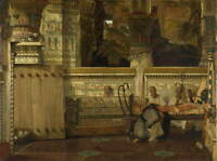 Lawrence Alma Tadema Untitled Giclee Art Paper Print Poster Reproduction
