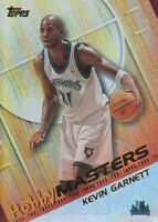2000-01 Topps Hobby Masters Basketball Cards Pick From List