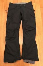 Burton Womens Dry Ride WB Fly Pant Snowboarding Cargo Pants Black Size Small