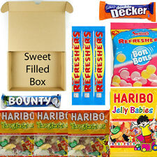CHOCOLATE SWEET FILLED HARIBO BOUNTY DOUBLE DECKER HALLOWEEN TRICK TREAT