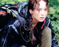 Jennifer LAWRENCE SIGNED Autograph 10x8 Photo AFTAL COA The Hunger Games